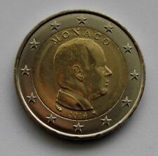 MONACO - 2 € Euro circulation coin  2014 Albert UNC
