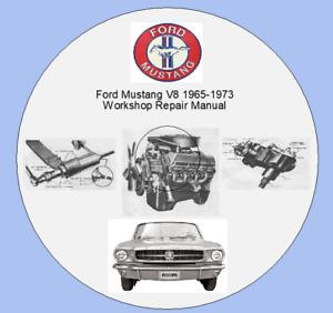 Ford Mustang V8 1965-1973 Workshop Repair Manual
