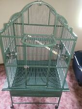 "parrot cage, Koloa Kavern Convertible top, 64"" tall, 32"" x 24"", 5/8"" bar spacing"