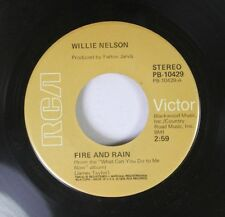 Country 45 Willie Nelson - Fire And Rain / I'M A Memory On Rca