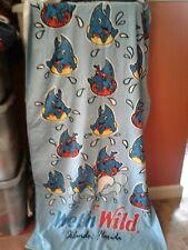 More details for wet n wild orlando florida blue beach towel