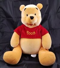 "Disney Store Winnie the Pooh Squeeze Me 14"" Stuffed Plush Bear"