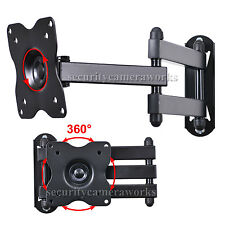 Articulating LCD LED TV Wall Mount 19 22 24 28 29Swivel Tilt Monitor Bracket BE8