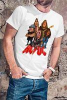 AC/DC Men White T-shirt ACDC Rock Band Fan Tee Shirt AC DC Size S M L XL XXL 3