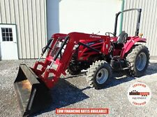 2017 Mahindra 2555 Tractor With Loader 4x4 Shuttle Shift 540 Pto 233 Hrs 55hp