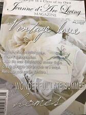 Jeanne D Arc Living Magazine - August 2016 Vintage Love