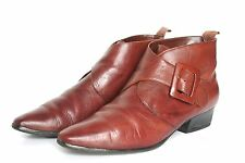 Leather Boots 1960s Vintage Shoes for Women
