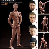 Phicen 1/6 Super-Flexible Seamless Muscular Steel Skeleton Body Fit Male Heads