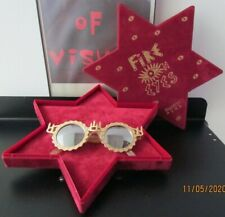 """NOS Swatch """"Fire on Eyes"""" 1980s Sunglasses vtg Numbered Edition #4332 of 4999"""