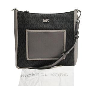 Michael Kors Shoulder Bag Gloria Pocket Swing Pack Black Multi Msrp:$248.00