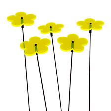 3 Stück SUNPLAY Sonnenfänger Ø15cm Suncatcher Gartenstecker Ringelblumen GELB