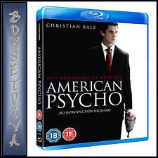 AMERICAN PSYCHO -  15TH ANNIVERSARY EDITION  *BRAND NEW  BLU-RAY ***
