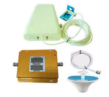 WCDMA 3G GSM 2G 900/2100MHz 60dB dual band signal booster repeater antenna