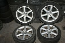 "2005 NISSAN 350Z Z33 ROADS #138 RIMS WHEELS TIRES STAGGERED 18"" RIM WHEEL SET"