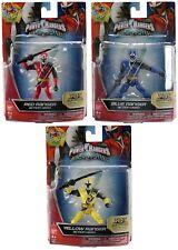 Job Lot of 3 x Power Rangers Ninja Steel 12.5cm Figures Red, Blue & Yellow - New