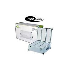 1 x 420 DJ Aluminium CD DVD Blu Ray Disc Storage Flight Carry Case Box
