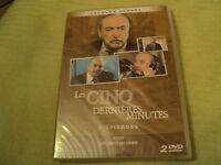 """COFFRET 2 DVD NEUF """"LES 5 CINQ DERNIERES MINUTES : REGIS / LES LOGES DU CRIME"""""""