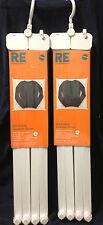 "Room Essentials Fold-Away Stackable Dryer 27 3/4"" x 28 1/4"" x 5 3/4"" **LOT OF 2*"