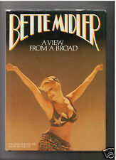 BETTE MIDLER - A VIEW FROM A BROAD - SIGNED 1ST HB- GOOD TO VERY GOOD CONDITION