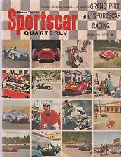 SPORTSCAR QUARTERLY SPRING 1959  ISSUE GRAND PRIX AND SPORTSCAR RACING COVER
