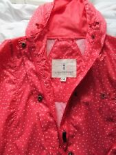 Lighthouse Water Proof Jacket Mac 14 Pink Spotty BNWT Lightweight Vented Joules