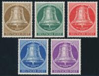BERLIN 1953, MiNr. 101-105, 101-05, postfrisch, Mi. 90,-