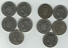 Reunion S 9 KM 12: 50 Francs 10 Stück wholesale dealer Händler lot