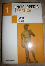 L'ENCICLOPEDIA TEMATICA - ARTE A- FIR - VOLUME 1 / I ED:L'ESPERESSO -  (RN)