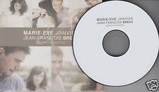 MARIE-EVE JANVIER & JEAN-FRANCOIS BREAU Donner Pour Donner (CD 2009) 12 Songs