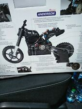 RC MOTORCYCLE NEW IN BOX 1/5 SCALE,,,Red color