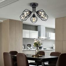 New ListingLed 5 Lights Heads Pendant Lamp Industrial Chandelier Ceiling Light Fixtures New