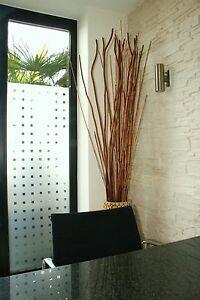 Premium Sichtschutz Fensterfolie Dekofolie Mastercarré - 1,52m x 1m