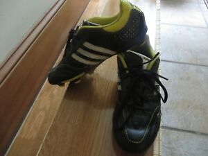 ADIDAS 11NOVA BOYS LEATHER SOCCER CLEATS BOOTS SZ US 5 5.5 YOUTH