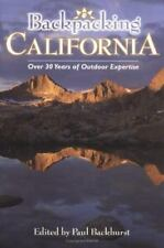 Backpacking California by Paul Backhurst (2001, Paperback) 1st Edition