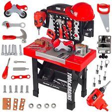 Kinderwerkbank Werkzeug Zubehör Werkstatt KP3777 Kleinkindspielzeug Kinderbank