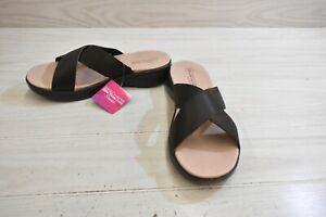 Skechers On The Go Luxe Effortless Sandals, Women's Size 9, Chocolate MSRP $59