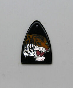 Truss Rod Cover with Tiger Head Inlay will fit PRS