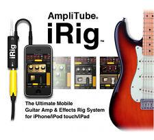 IK Amplitube iRig Guitar Amp Cable iPhone 7 Plus iPad FxRig Multimedia AmpliTube