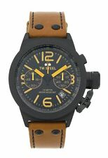 TW Steel Men's Canteen TWCS43 Chronograph Black Easy Read Dial Watch