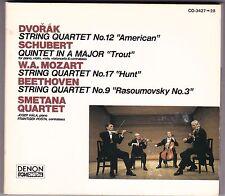 Smetana Quartet - CD (2 x CD 1989 Denon PCM Japan CO-3427-28 Digipack)