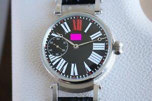 Vintage 1928`Original OMEGA Swiss movement in New Steel Wrist Case Wristwatch