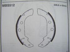 Peugeot 306 brake shoes (mbs512) (93 - 97)