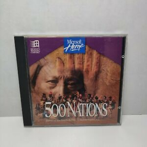 Microsoft Home 500 Nations Stories of the North American Indian Experience MINT