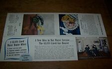 1942 VINTAGE BROOKLYN UNION GAS CO WATER HEATER ADVERTISING BROCHURE NY GAS MART