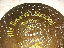 """Die Rose von Stambul Polyphon Blechplatte 20,5cm Uhr automaton music disc 8 1/4"""""""