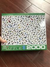 NEW 2000 Piece Puzzle - Eurographics The World of Birds by David Sibley Sealed