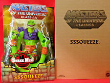 SSSQUEEZE Masters of the Universe Classics MOTU Snake Men figure New Sealed