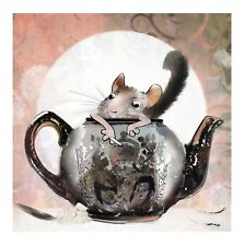 Officially licensed Harry Bunce greetings cards / Alice in Trouble