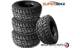 4 Supermax Rt 1 33x1250r17lt 120q Tires 10ply All Terrain At Mud Mt Truck