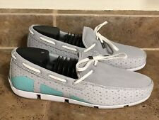 SWIMS Breeze Leap Lazer Mens Size7 Grey loafers boat Water shoes MSRP $ 159.00